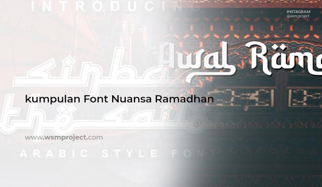 font-ramadhan-idul-fitri-lebaran