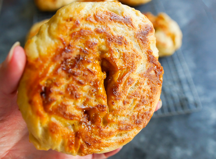 how to make butterscotch bagels