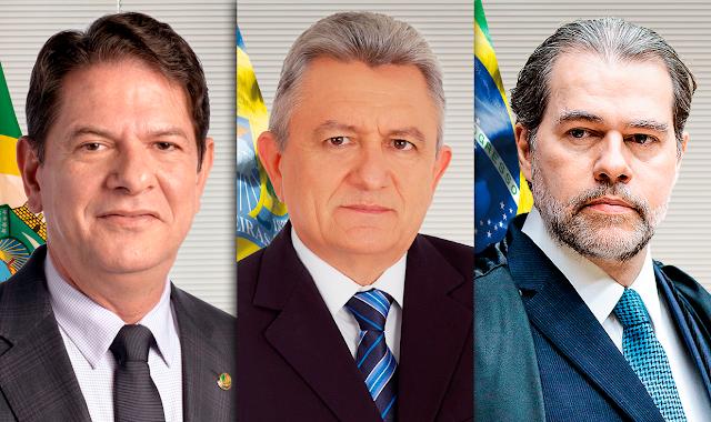 Prefeito Nenem do Cazuza se encontrará com Ministro Dias Toffoli e Senador Cid Gomes nesta quarta-feira em Brasília