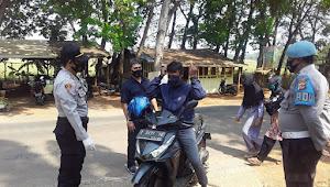 Jalan Penghubung Purwadadi Dan Sukamandi Target Oprasi Yustisi Polsek Purwadadi Polres Subang