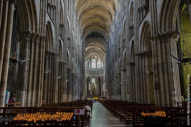 Viaje Bretaña Normandía Rouen diario