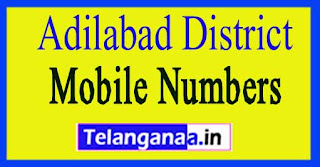 Bellampalle Mandal ZPTC MPP MPTC Mobile Numbers List Adilabad District in Telangana State