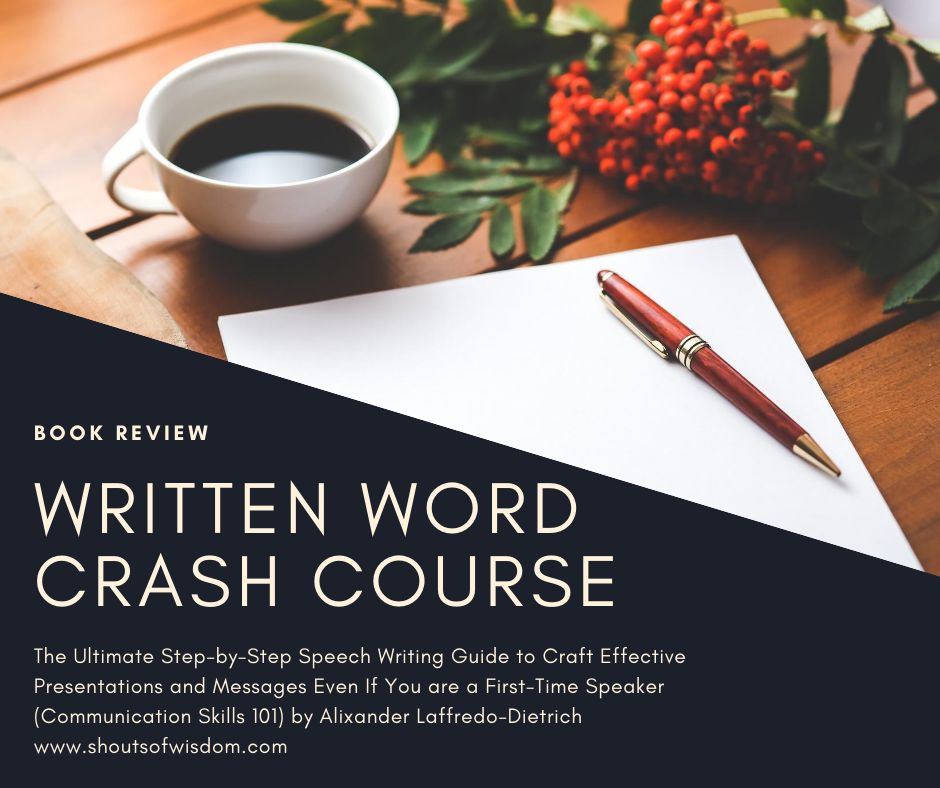 Written Word Crash Course by Alixander Laffredo-Dietrich Book Review