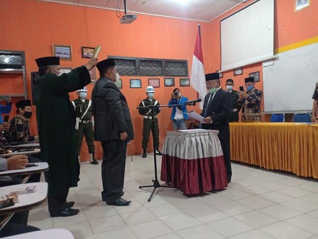 Resmi dilantik, Eliyusnadi Jabat Ketua STIA Nusa