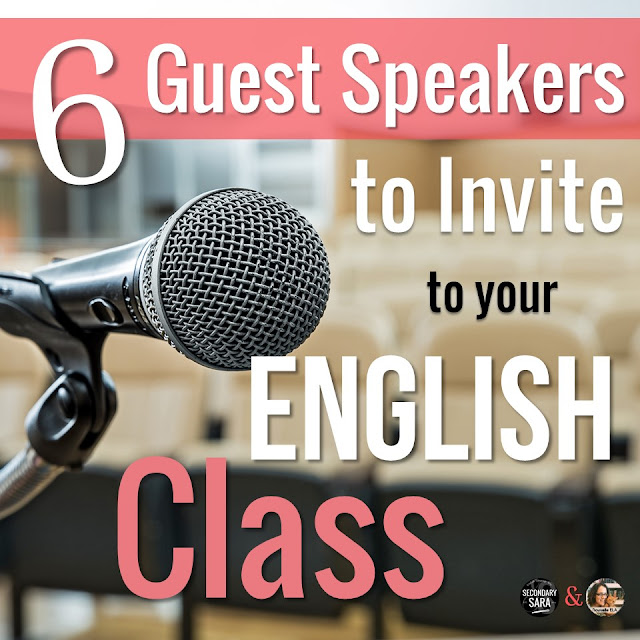 Guest speakers are a great way to not only mix up your class routine but also to engage students in things going on outside the classroom. Check out this list of six types of guest speakers to invite to your English class, as well as why they're great choices!