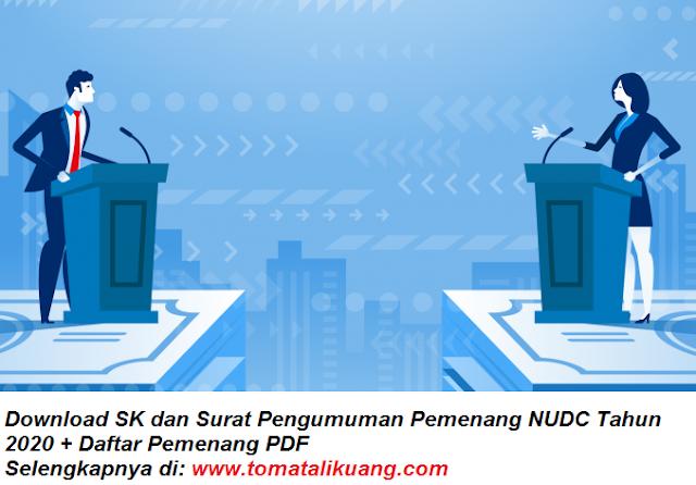 download sk, surat pengumuman, dan daftar pemenang national university debate championship nudc tahun 2020 pdf tomatalikuang.com