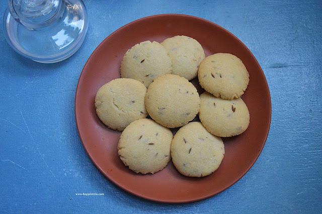 Jeera BIscuits  Recipe | Cumin Seed Biscuits Recipe
