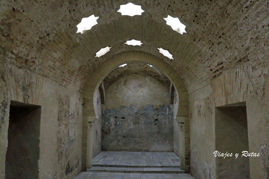 Palacio de Villardompardo, Baños árabes