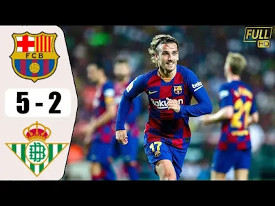 Barcelona vs Real Betis 5-2 All Goals And Match Highlights [MP4 & HD VIDEO]