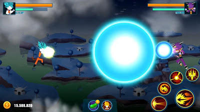 Stick Z: Super Dragon Fight مهكرة