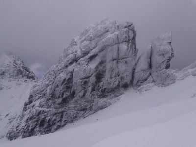 Am Bastier, Skye winter