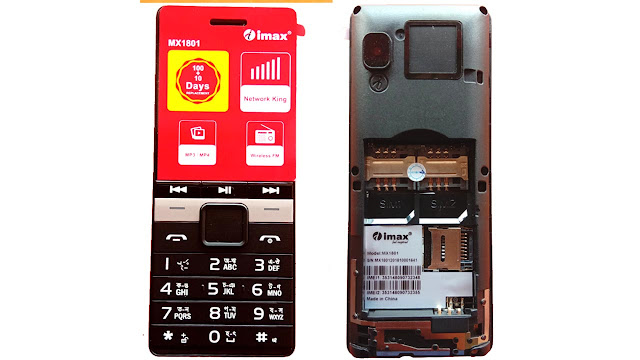 Imax MX1801 SC6531E Flash File Without Password Free Download Firmware