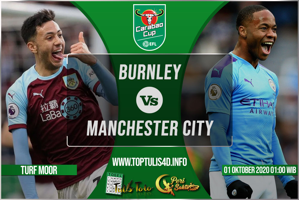 Prediksi Burnley vs Manchester City 01 Oktober 2020