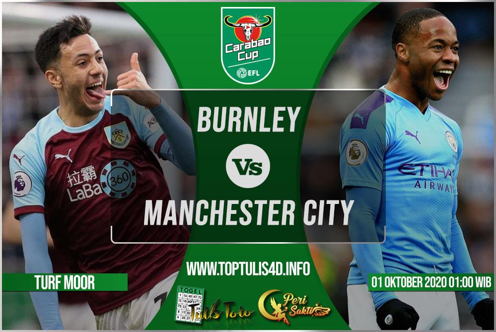 Prediksi Burnley vs Manchester City 01 Oktober 2020