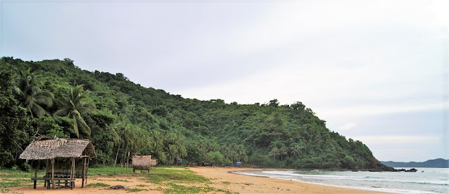 El Nido, Filipinas. Playas alrededor de El Nido. Duli Beach.