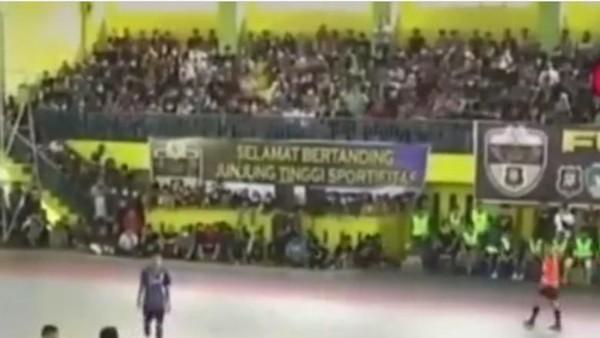 Kerumunan Saat Futsal Bikin Kapolsek-Kanit Reskrim Hilang Jabatan