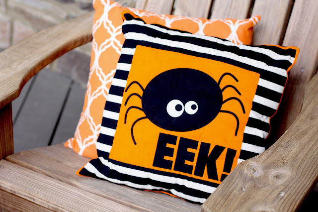halloween decor - halloween porch decor - halloween pillows