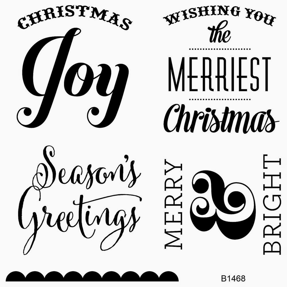 Courtney Lane Designs: Close To My Heart Christmas Stamps
