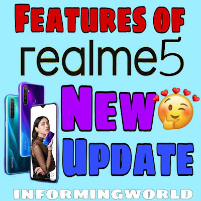 Features of realme5 new update to realme UI and Adroid 10