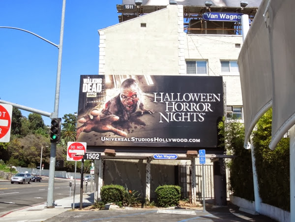 Halloween Horror Nights billboard 2013