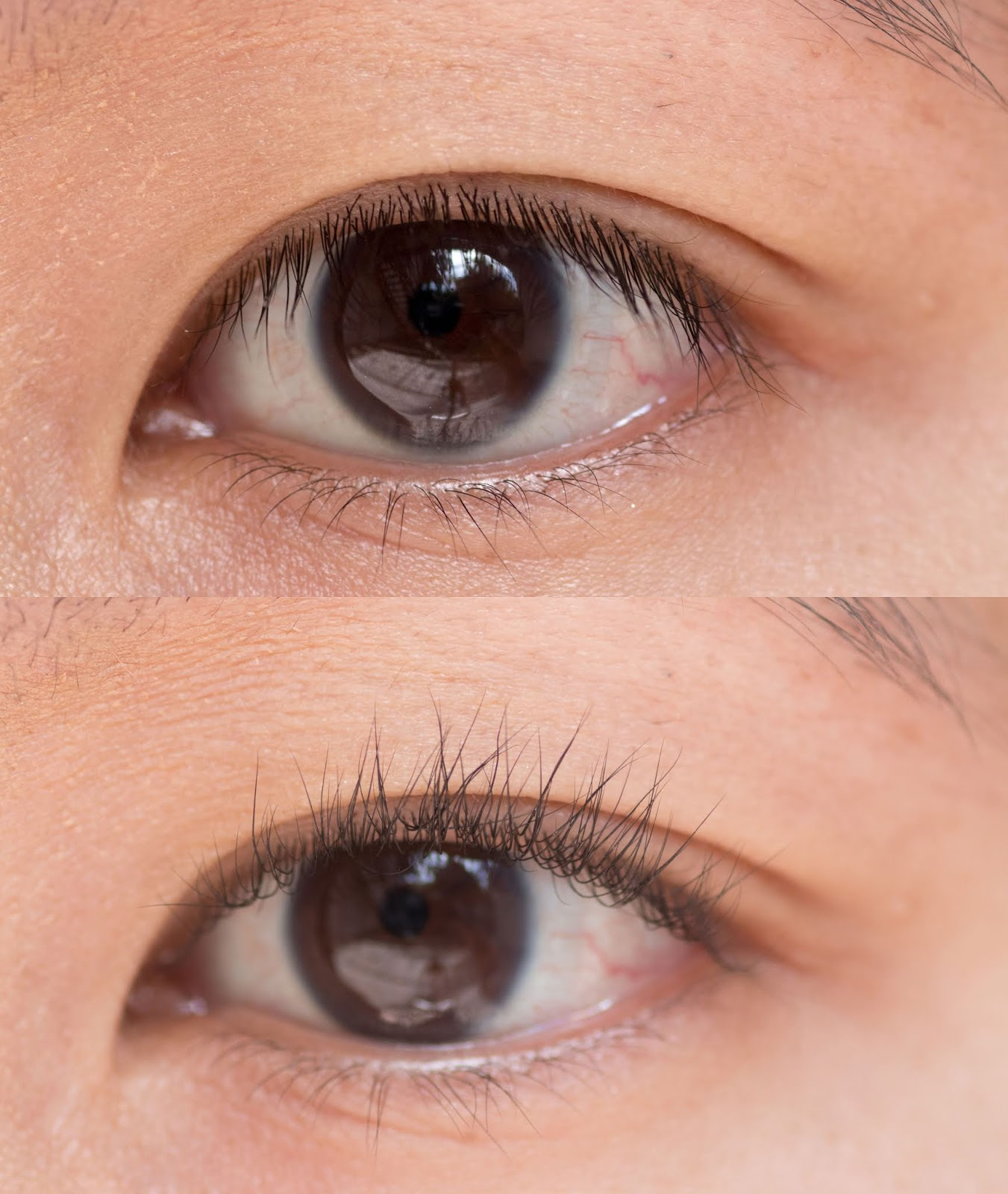 Glossier Lash Slick Mascara Before Mascara