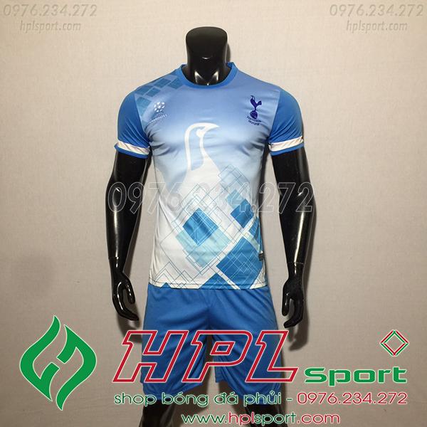 Áo CLB Tottenham training màu xanh  2020
