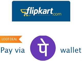 Flipkart 20% off using Phonepe Wallet(Flipkart Phonepe offer)