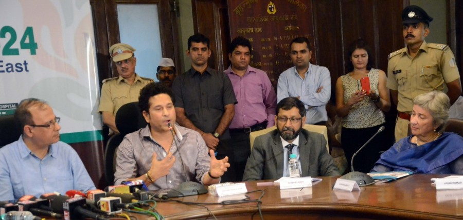 Former Cricketer Sachin Tendulkar Launches Mission 24