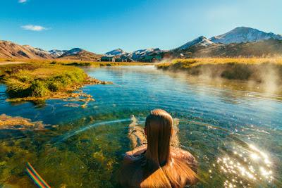 Sources chaudes de Reykjadalur: se baigner dans les rivières d'Islande