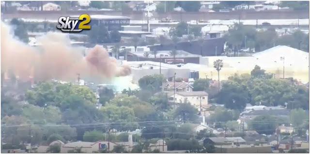 Massive Explosion Occurs At Burbank Power Substation