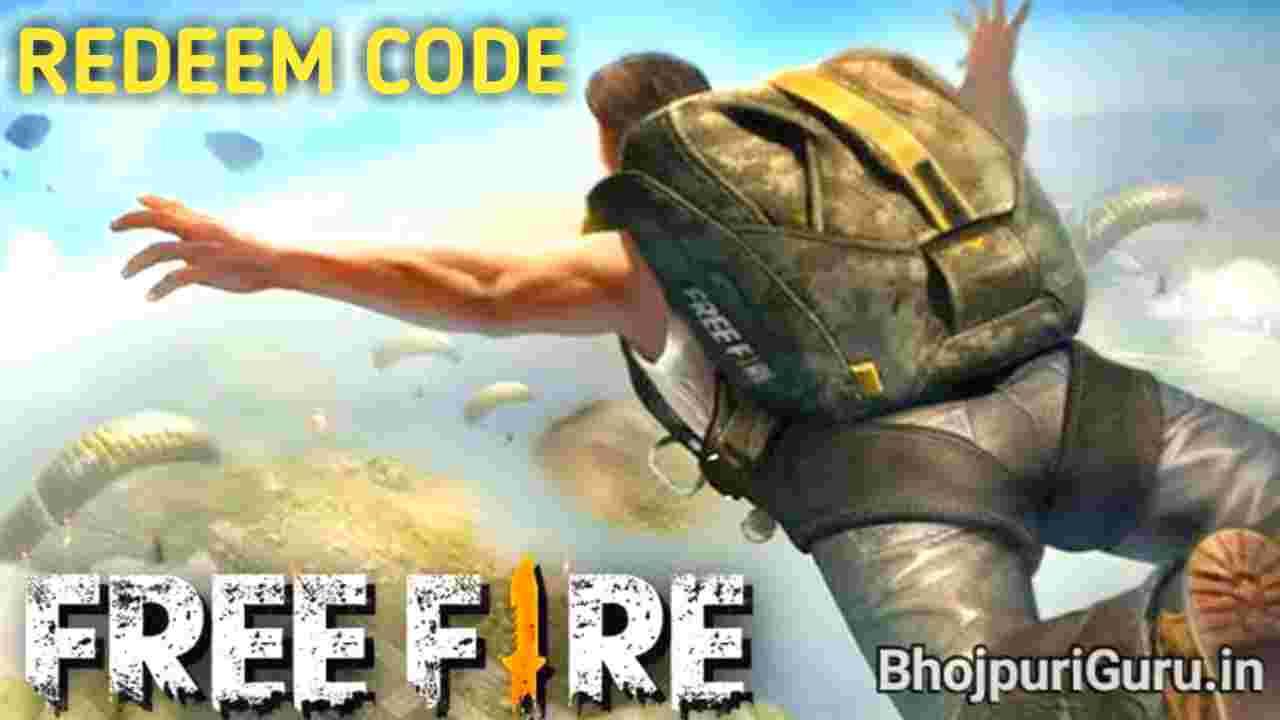 Garena Free Fire Redeem Codes Today August 25, 2021: Garena Free Fire Redeem Codes Reward Using Codes - Bhojpuri Guru