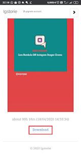 Cara Download Instastory Tanpa Aplikasi- IgStories2