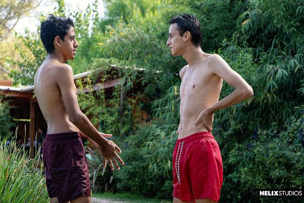 #HelixStudios - Acqua Latinos | Part 3: Water Volleyball Lance Mayer, Aubin Duran