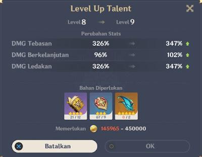 talent level 9 diluc
