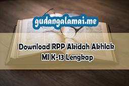RPP Akidah Akhlak MI K-13 Lengkap