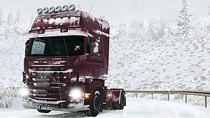 Snowy skin for Scania RJL (EviL & Stagg)