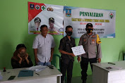 Guyub TNI-Polri, Polsek Kopo Monitoring Pembagian BLT-DD di Kantor Desa Gabus