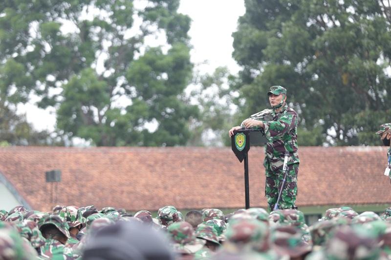 Kasdam III/Siliwangi Cek Kesiapan Gelar Pasukan YTP Yonif R 301/PKS