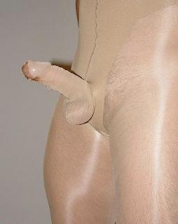 Pantyhose cock sock hot porno