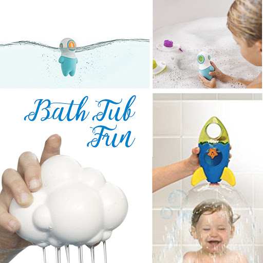 Bath Tub Educational Accessories for Kids, Newborns and Infants