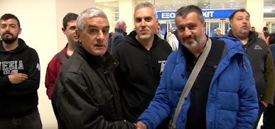 Βίντεο με την υποδοχή του ΠΑΟΚ στο αεροδρόμιο Χανίων