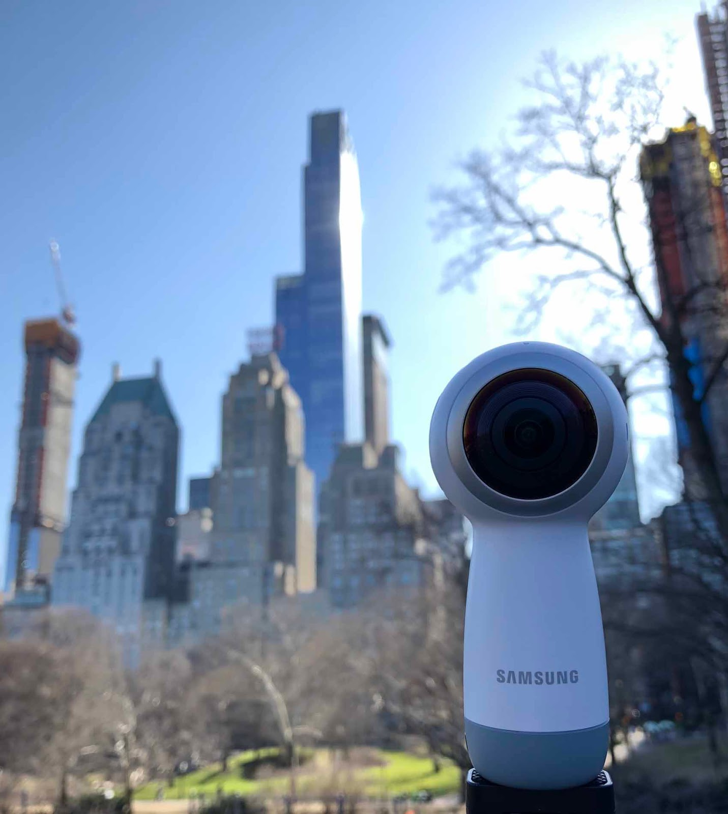 Samsung Gear 360 ja ikoniset pilvenpiirtäjät