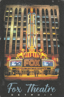 Fox Theatre Detroit postcard