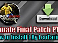 Update Patch PES 2016 Terbaru dari PTE V7.2