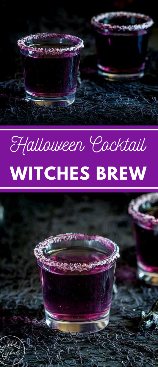 Witches Brew – A Halloween Cocktail  #drink #cocktail #healthy #recipes #easy