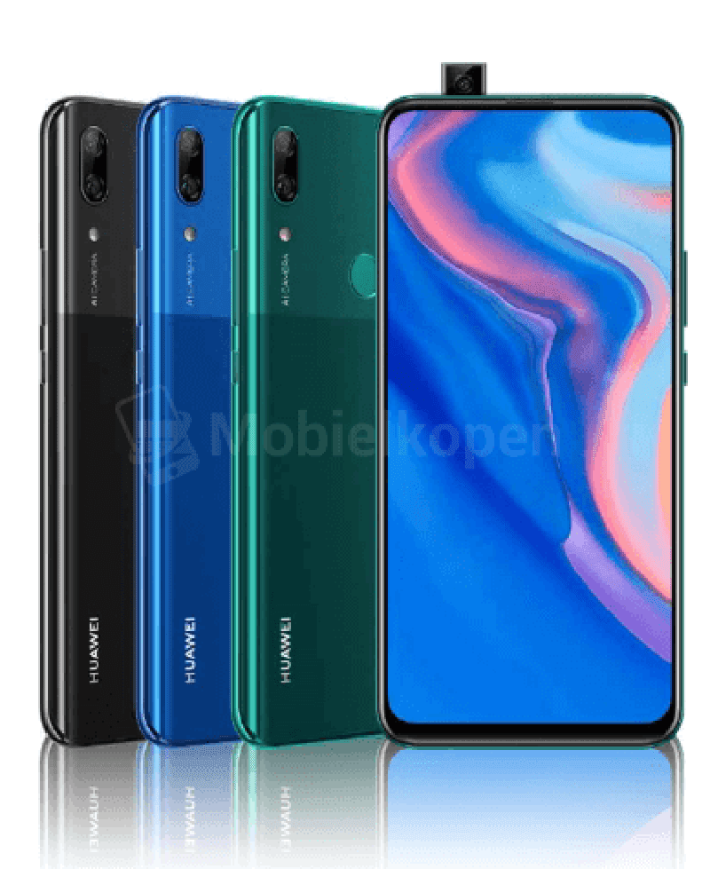 Huawei P Smart Z leaked, comes with pop-up cameras