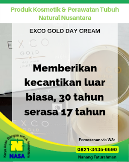 Exco Gold Day And Night Cream Lightening