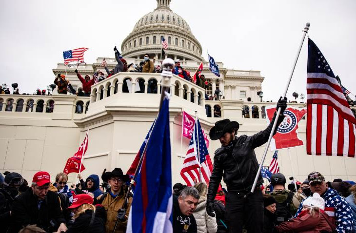4 Dead And 52 Arrested In Pro-Trump Capitol Raid