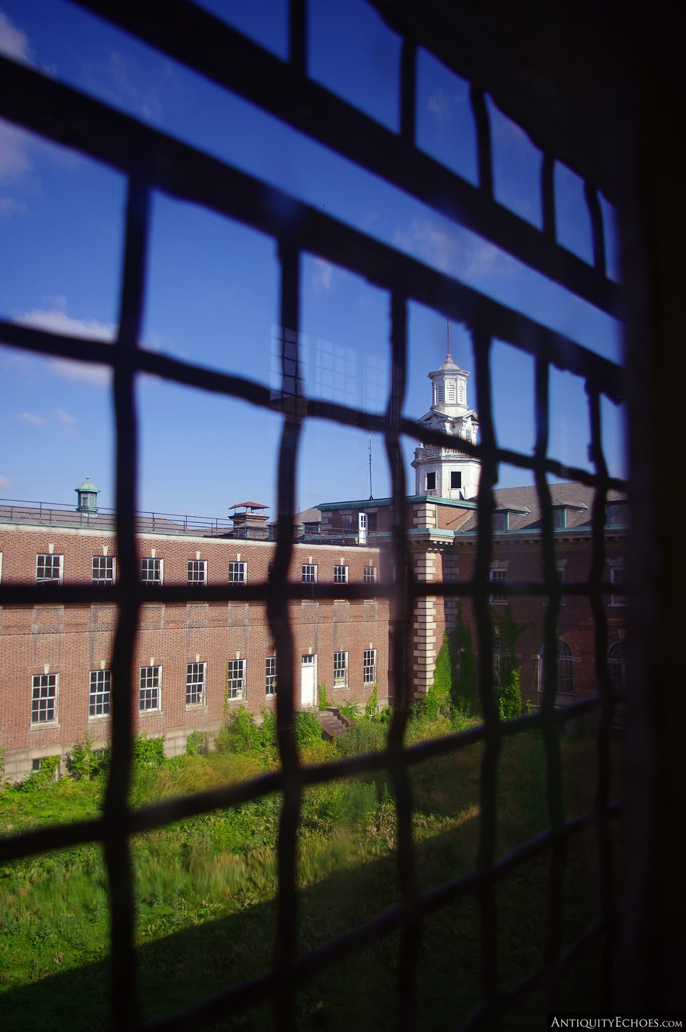 Allentown State Hospital - View from Caged Window