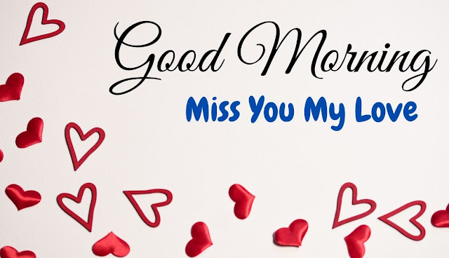 Romantic Good Morning Miss You my love Image